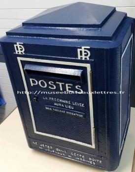 ancienne boite aux lettres ptt 1951 1962 et objets anciens sur les ptt et les facteurs. Black Bedroom Furniture Sets. Home Design Ideas